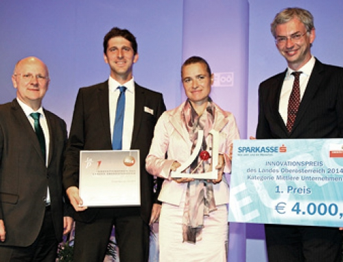 GearControl wins Upper Austrian Prize for Innovation