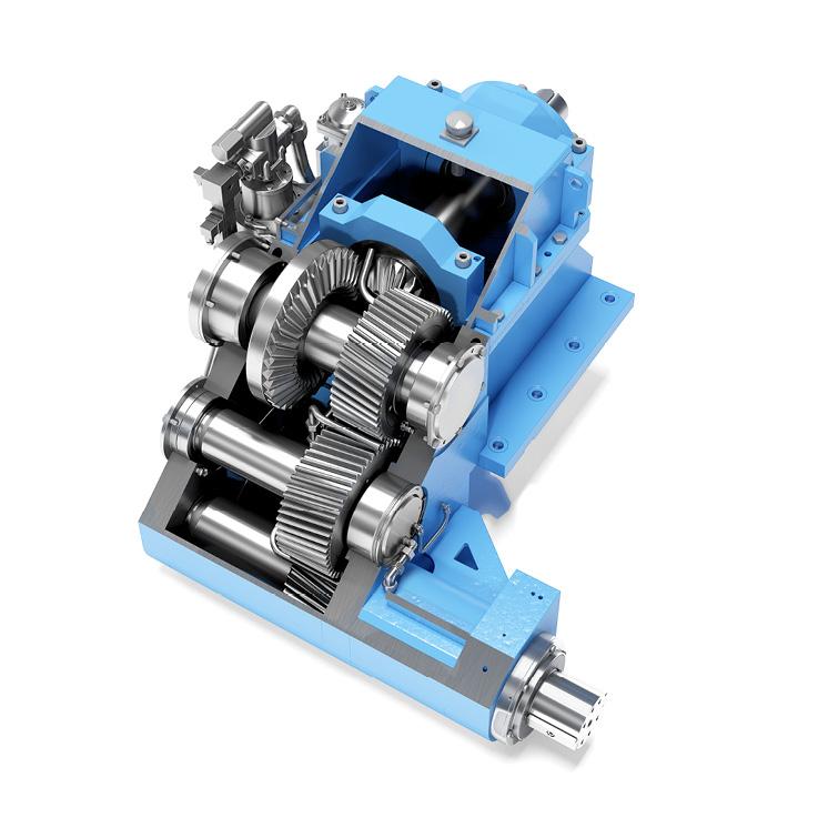 Trennschleifmaschinen Getriebe