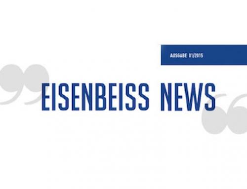 Eisenbeiss Newsletter 01/2015