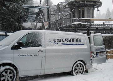 Vor-Ort Getriebeservice und -Reparatur